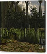Carboniferous Forest Of The Eastern Canvas Print