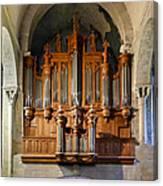 Carcassonne Organ Canvas Print
