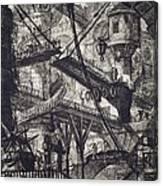Carceri Vii Canvas Print