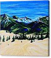 Carcross Desert Canvas Print