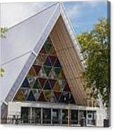 Cardboard Cathedral Canvas Print