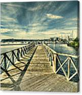 Cardiff Bay Wetlands Canvas Print