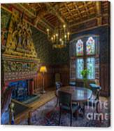 Cardiff Castle Apartment Dining Room Canvas Print
