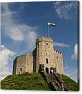 Cardiff Castle Keep Canvas Print