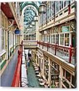 Cardiff Wyndham Arcade 8278 Canvas Print