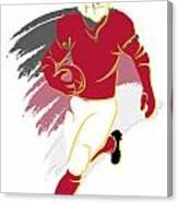 Cardinals Shadow Player2 Canvas Print