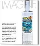 Carey Chen Big Chill Vodka By Jimmy Johnson Canvas Print