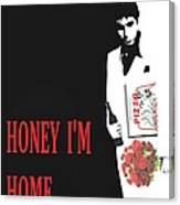 Carface Honey I'm Home Canvas Print