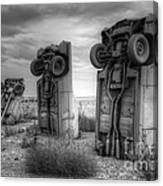 Carhenge Automobile Art 3 Canvas Print