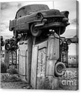 Carhenge Automobile Art 4 Canvas Print