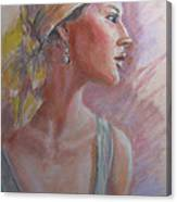 Caribbean Beauty Canvas Print