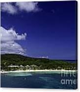 Caribbean Breeze Nine Canvas Print