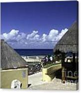 Caribbean Breeze One Canvas Print