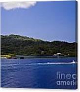 Caribbean Breeze Six Canvas Print