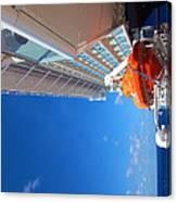 Caribbean Cruise - On Board Ship - 1212112 Canvas Print