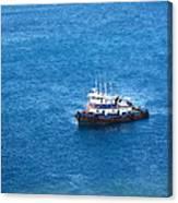Caribbean Cruise - On Board Ship - 1212137 Canvas Print