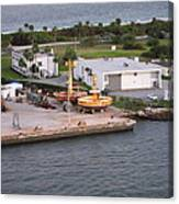 Caribbean Cruise - On Board Ship - 121215 Canvas Print