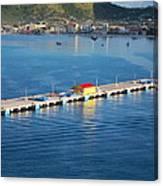 Caribbean Cruise - On Board Ship - 1212152 Canvas Print