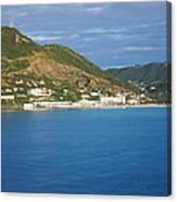 Caribbean Cruise - On Board Ship - 1212153 Canvas Print
