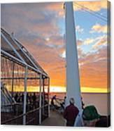 Caribbean Cruise - On Board Ship - 1212165 Canvas Print