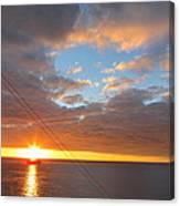 Caribbean Cruise - On Board Ship - 1212176 Canvas Print