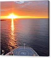 Caribbean Cruise - On Board Ship - 1212185 Canvas Print