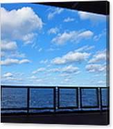 Caribbean Cruise - On Board Ship - 1212219 Canvas Print