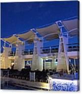 Caribbean Cruise - On Board Ship - 121237 Canvas Print