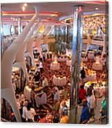 Caribbean Cruise - On Board Ship - 121272 Canvas Print