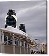 Caribbean Cruise - On Board Ship - 121299 Canvas Print
