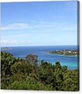Caribbean Cruise - St Thomas - 1212238 Canvas Print