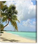 Caribbean Dream Beach Canvas Print