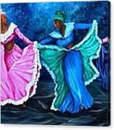 Caribbean Folk Dancers Canvas Print