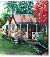 Caribbean Life Canvas Print