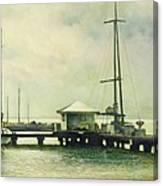 Caribbean Marina-3 Canvas Print