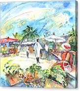 Caribbean Market Canvas Print