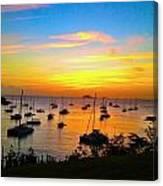 Caribbean Sunset Canvas Print