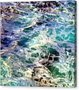Caribbean Waters Canvas Print
