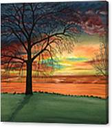 Carla's Sunrise Canvas Print