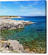 Carloforte Coastline Canvas Print