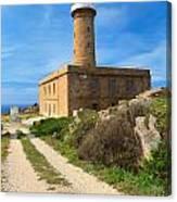 Carloforte Lighthouse Canvas Print