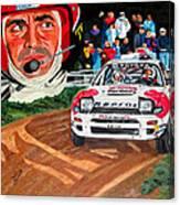 Carlos Sainz Canvas Print
