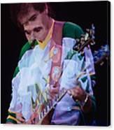 Carlos Santana At The Berkeley Greek Theater-september 13th 1980 Canvas Print