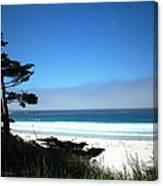 Carmel Beach California Usa Canvas Print