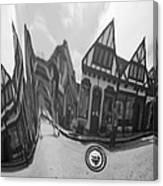 Carmel-by-the-sea Jaguar Hood Canvas Print