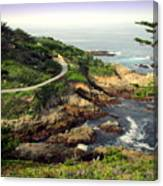 Carmel Highlands Canvas Print