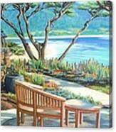 Carmel Lagoon View Canvas Print