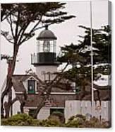Carmel Light Station Canvas Print