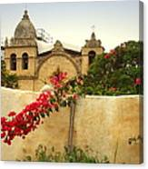 Carmel Mission Getting A Facelift Canvas Print