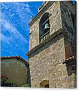 Carmel Mission In Sun Canvas Print